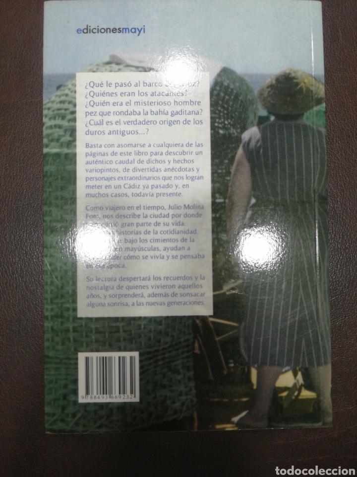 Libros: LA HISTORIA PEQUEÑA DE CÁDIZ. JULIO MOLINA FONT. Nuevo - Foto 2 - 217366255