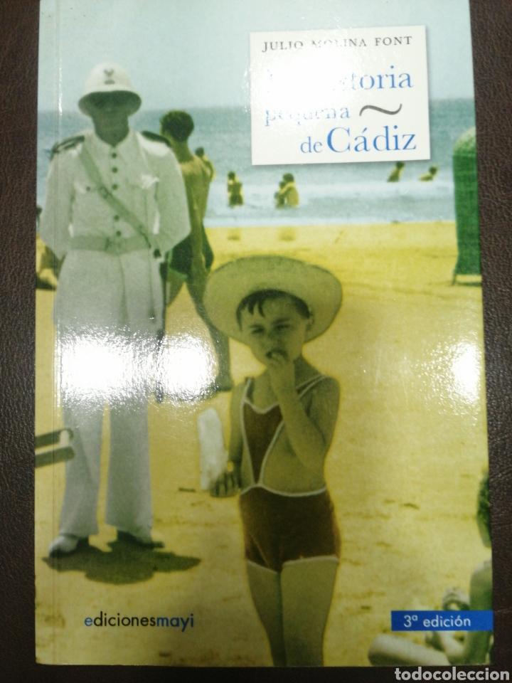 LA HISTORIA PEQUEÑA DE CÁDIZ. JULIO MOLINA FONT. NUEVO (Libros Nuevos - Ocio - Otros)