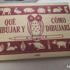 Libros: LIBRO QUÉ DIBUJAR Y CÓMO DIBUJARLO - MANUAL DE DIBUJO. Lote 217862835