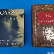 Libros: LOS MISERABLES Y GARZON. Lote 218230573
