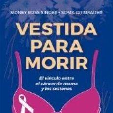 Libros: VESTIDA PARA MORIR. Lote 218260242