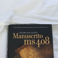 Libros: MANUSCRITO MS40. THIERRY MAUGENEST. Lote 218453898