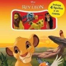 Libros: EL REY LEÓN. MINI-LIBROAVENTURAS. Lote 218514625