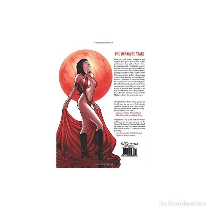 Libros: Art of Vampirella: The Dynamite Years (Inglés) Tapa dura - Foto 2 - 218777410