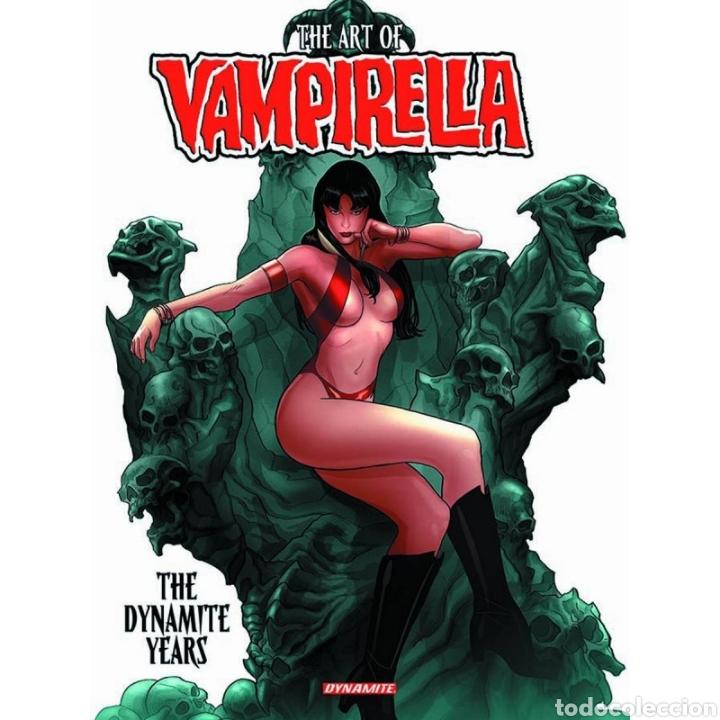 ART OF VAMPIRELLA: THE DYNAMITE YEARS (INGLÉS) TAPA DURA (Libros Nuevos - Ocio - Otros)