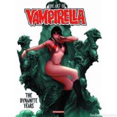 Libros: ART OF VAMPIRELLA: THE DYNAMITE YEARS (INGLÉS) TAPA DURA. Lote 218777410