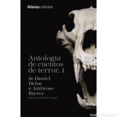 Libros: ANTOLOGÍA DE CUENTOS DE TERROR, 1. Lote 218849758