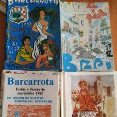 Libros: COLECCIÓN DE 49 LIBROS DE FERIA DE BARCARROTA. DESDE LOS AÑOS 80 A LA ACTUALIDAD. SEMANA SANTA.. Lote 218914021