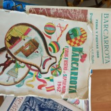 Libros: LIBROS DE FERIA DE BARCARROTA ANTIGUOS. AÑOS 1953, 1962, 1964, 1979.. Lote 218914560