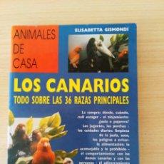 Libros: LOS CANARIOS. TODO SOBRE LAS 36 RAZAS PRINCIPALES. NUEVO. Lote 220643503
