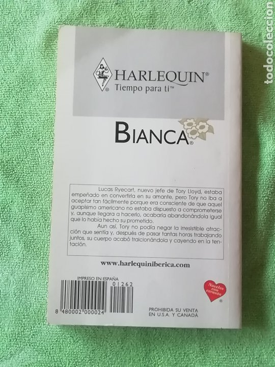 Libros: Harlequin Bianca.. La amante apasionada - Foto 2 - 221957227