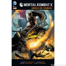 Libros: MORTAL KOMBAT X: DIOSES DE SANGRE. Lote 221957856