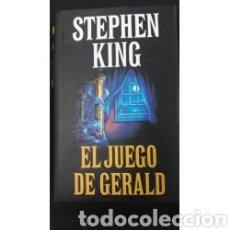 Libros: STEPHEN KING- EL JUEGO DE GERALD. Lote 222096136