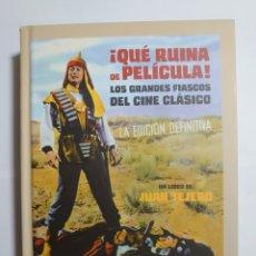 Libros: QUÉ RUINA DE PELÍCULA. Lote 222286795