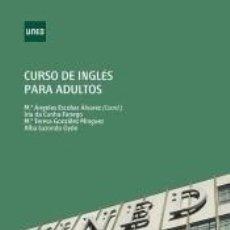 Libros: CURSO DE INGLÉS PARA ADULTOS. Lote 222526720