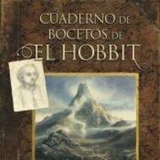 Livros: EL HOBBIT. CUADERNO DE BOCETOS. Lote 222628033