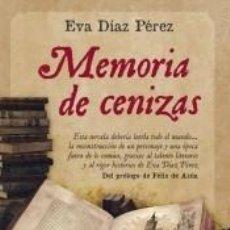 Libros: MEMORIA DE CENIZAS. Lote 222831402