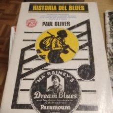 Livros: LIBRO HISTORIA DEL BLUES 1976 PAUL OLIVER. Lote 263612110