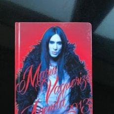 Livros: AGENDA 2013 - MARIO VAQUERIZO. Lote 225701585
