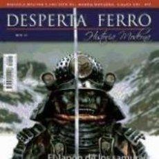 Libros: REVISTA DESPERTA FERRO. MODERNA, Nº 5, AÑO 2012. EL JAPÓN DE LOS SAMURÁIS. Lote 226589130