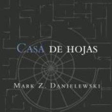 Libros: CASA DE HOJAS. Lote 227151290