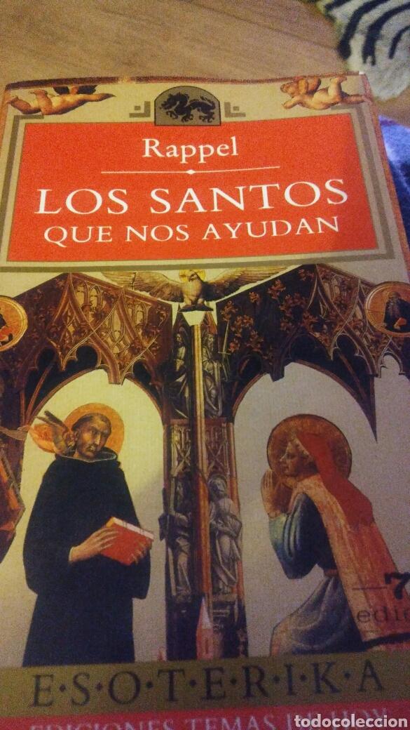 LIBRO DE RAPPEL LOS SANTOS QUE NOS AYUDAN (Libros Nuevos - Ocio - Otros)