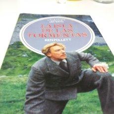 Libros: LA ISLA DE LAS TORMENTAS 1985 KEN FOLLETT. Lote 228298115