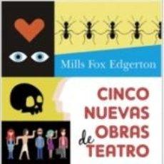 Libros: CINCO NUEVAS OBRAS DE TEATRO. Lote 228447330