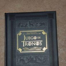 Libros: LIBRO OFICIAL DE LA SERIE JUEGO DE TRONOS. Lote 235200325