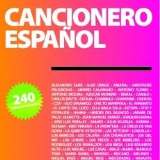 Libros: CANCIONERO ESPAÑOL. VOLONTÈ & CO. 240 LETRAS CON SUS ACORDES.. Lote 235343120