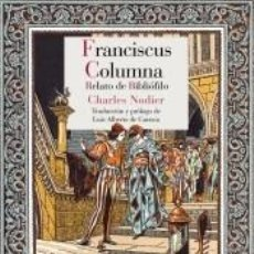 Libros: FRANCISCUS COLUMNA. Lote 236527205