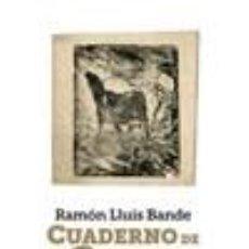 Libros: CUADERNO DE LA GUERRA. Lote 236527365