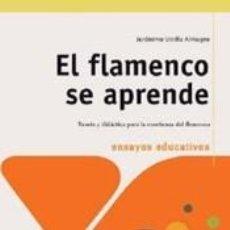 Libros: FLAMENCO SE APRENDE, EL. Lote 236540715