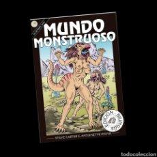 Libros: MUNDO MONSTRUOSO ART WORK. Lote 236601320