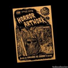 Libros: HORROR ART WORK AMANDO DE OSSORIO + DVD LA NOCHE DE LOS BRUJOS. Lote 236601550