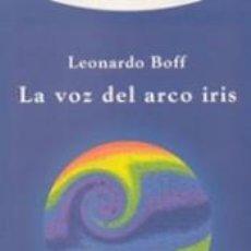 Libros: LA VOZ DEL ARCO IRIS. Lote 237284625