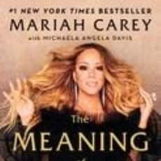 Libros: THE MEANING OF MARIAH CAREY. Lote 237499515