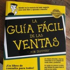 Libros: GUIA FACIL DE LAS VENTAS. Lote 239781800