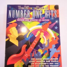 Libros: THE BILLBOARD BOOK OF NUMBER ONE HITS - INGLES - 1997- FRED BRONSON. Lote 239881770