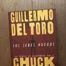 Livres: LOS SERES HUECOS. LAS CINTAS DE BLACKWOOD VOL. 1, DE GUILLERMO DEL TORO Y CHUCK HOGAN. Lote 240818780