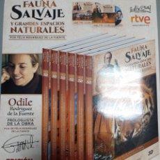 Libros: FAUNA SALVAJE Y GRANDES ESPACIOS NATURALES FELIX RODRIGUEZ DE LA FUENTE. Lote 240823825