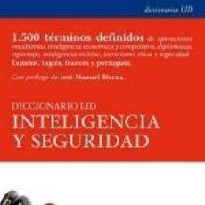 Livres: DICCIONARIO LID INTELIGENCIA Y SEGURIDAD. Lote 240873330