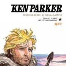 Libros: KEN PARKER NÚM. 05: CAZA EN EL MAR/LAS TIERRAS BLANCAS. Lote 243978900