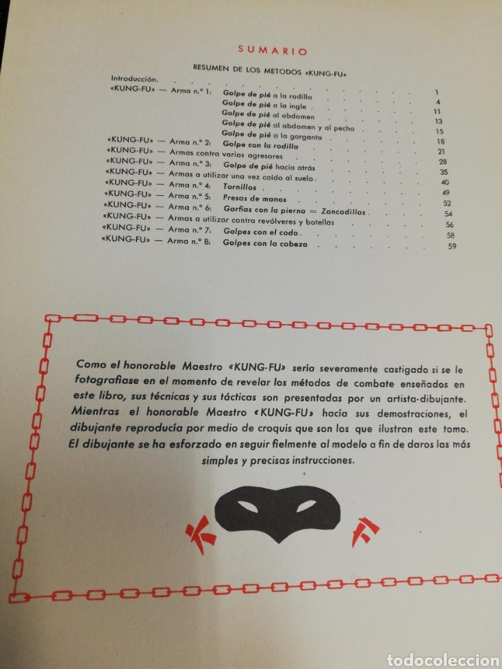Libros: Kung Fu. Método secreto de lucha china. - Foto 9 - 243987245