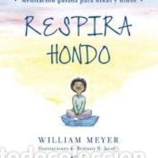 Libros: RESPIRA HONDO. Lote 244008130