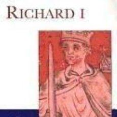 Libros: RICHARD I. Lote 245415155