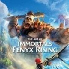Libros: THE ART OF IMMORTALS: FENYX RISING. Lote 245415195