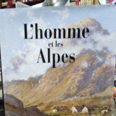 Libros: L' HOMME ET LES ALPES-COTRAO/EDITA GLENAT 1992-MONTAÑISMO ALPINISMO EN FRANCÉS, ILUSTRADO. Lote 245416205