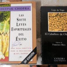 Libros: 2 LIBROS. Lote 245722385