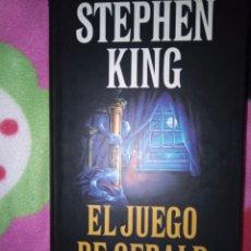 Libros: EL JUEGO DE GERALD. Lote 246255395